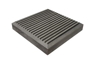 Duofuse chapeau gris stone classic 110mm x 110mm x 17mm
